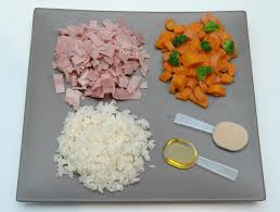 ingredients to prepare a healthy homemade dog food