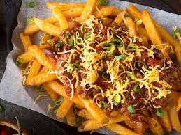 no chili cheese and fries for dogs