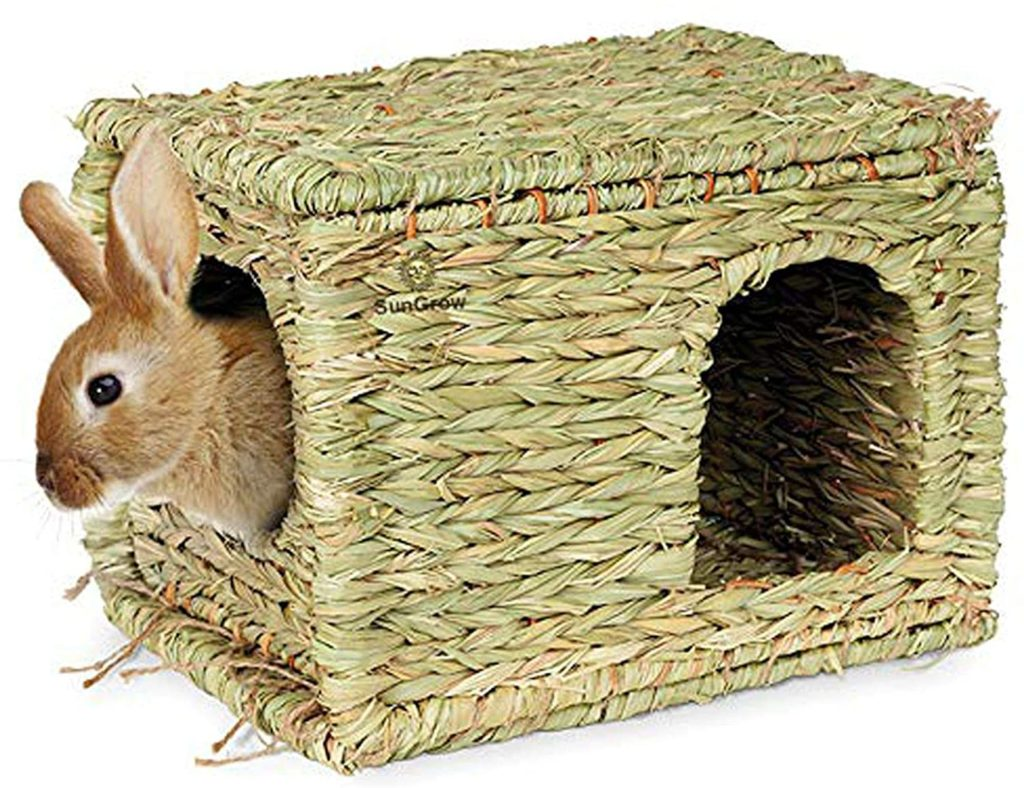 CHEW HOME TOY FOR RABBIT TO FILL WITH HAY