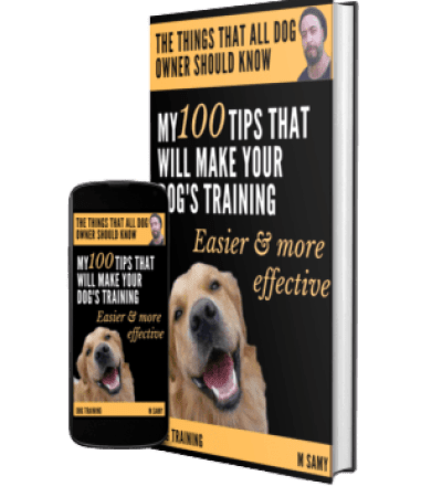 M Samy book about dog training tips