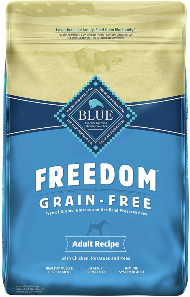 Blue Buffalo grain free Dry Food for Dogs