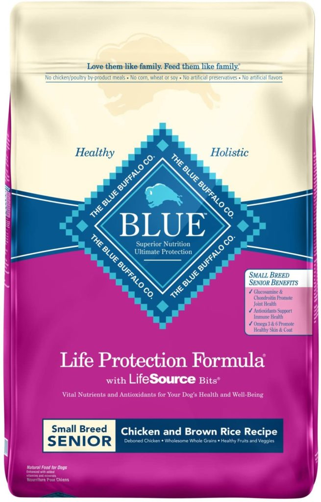 blue buffalo faviorite senior food by famillypet