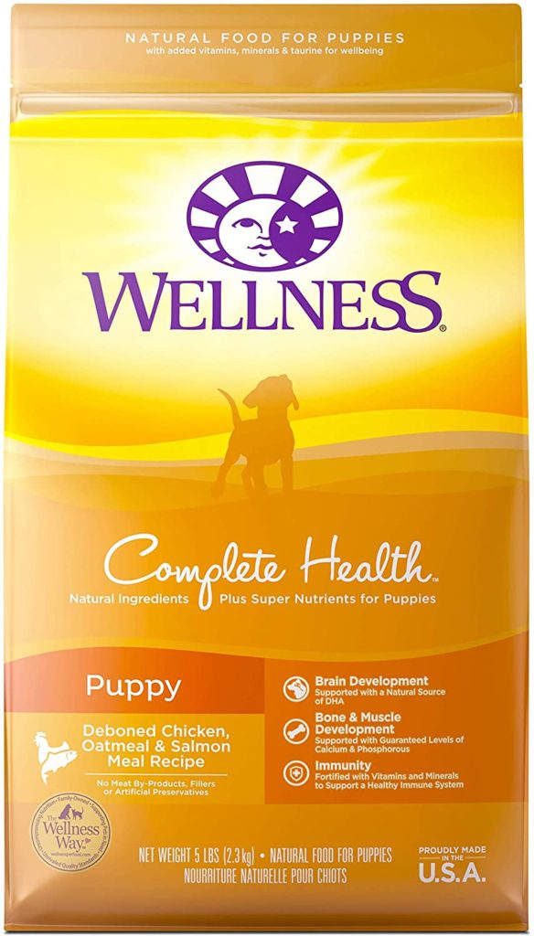 wellness favorite dry food grain free for puppies on famillypet