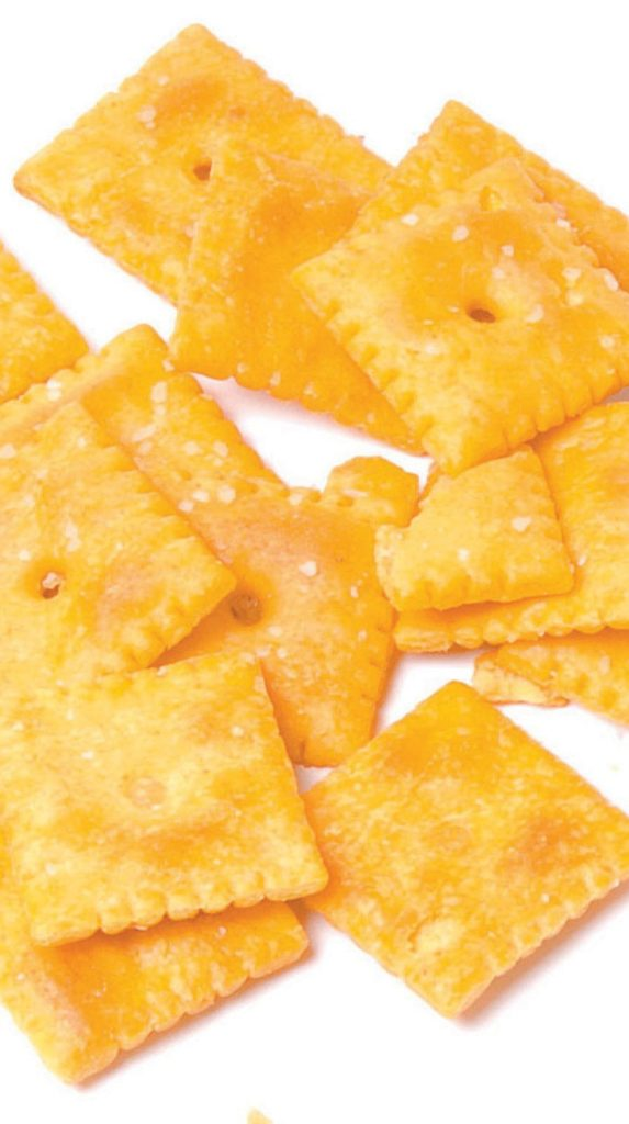 are cheese crackers safe as a treat for dogs