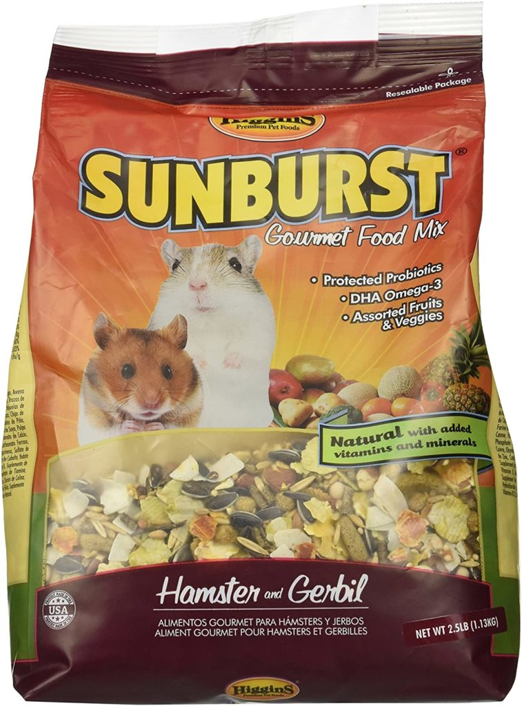what do hamsters eat ?